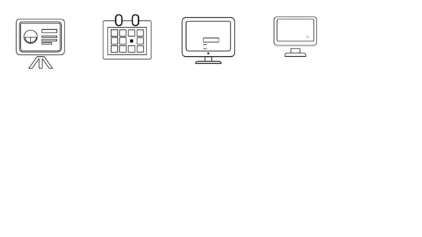 Business and Startup Line Icons