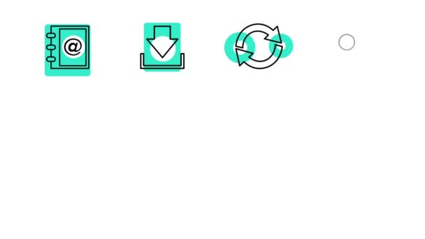 Business and Office Line Icons