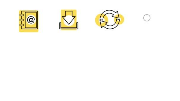 Symbole für Business und Office Line