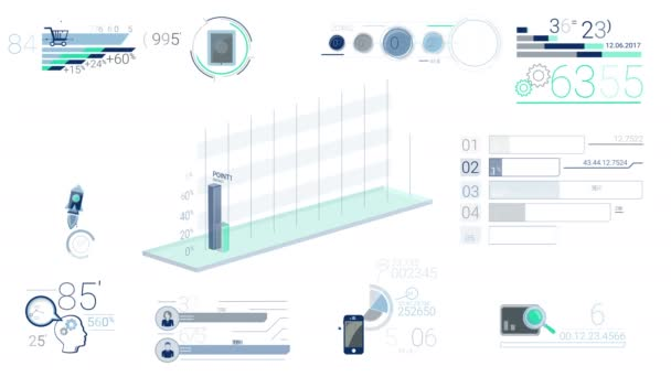 Blue Corporate Infographic Elements