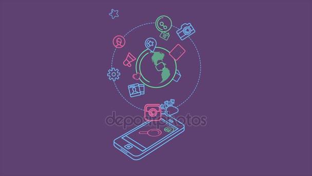 Die ganze Welt In einem Smartphone