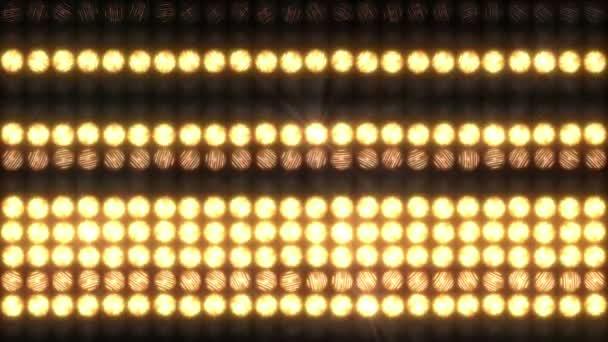 Fali fényjelzésnek puha vízszintes csíkok, hurok.