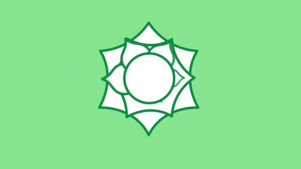ikona čáry sahasrara na alfa kanálu