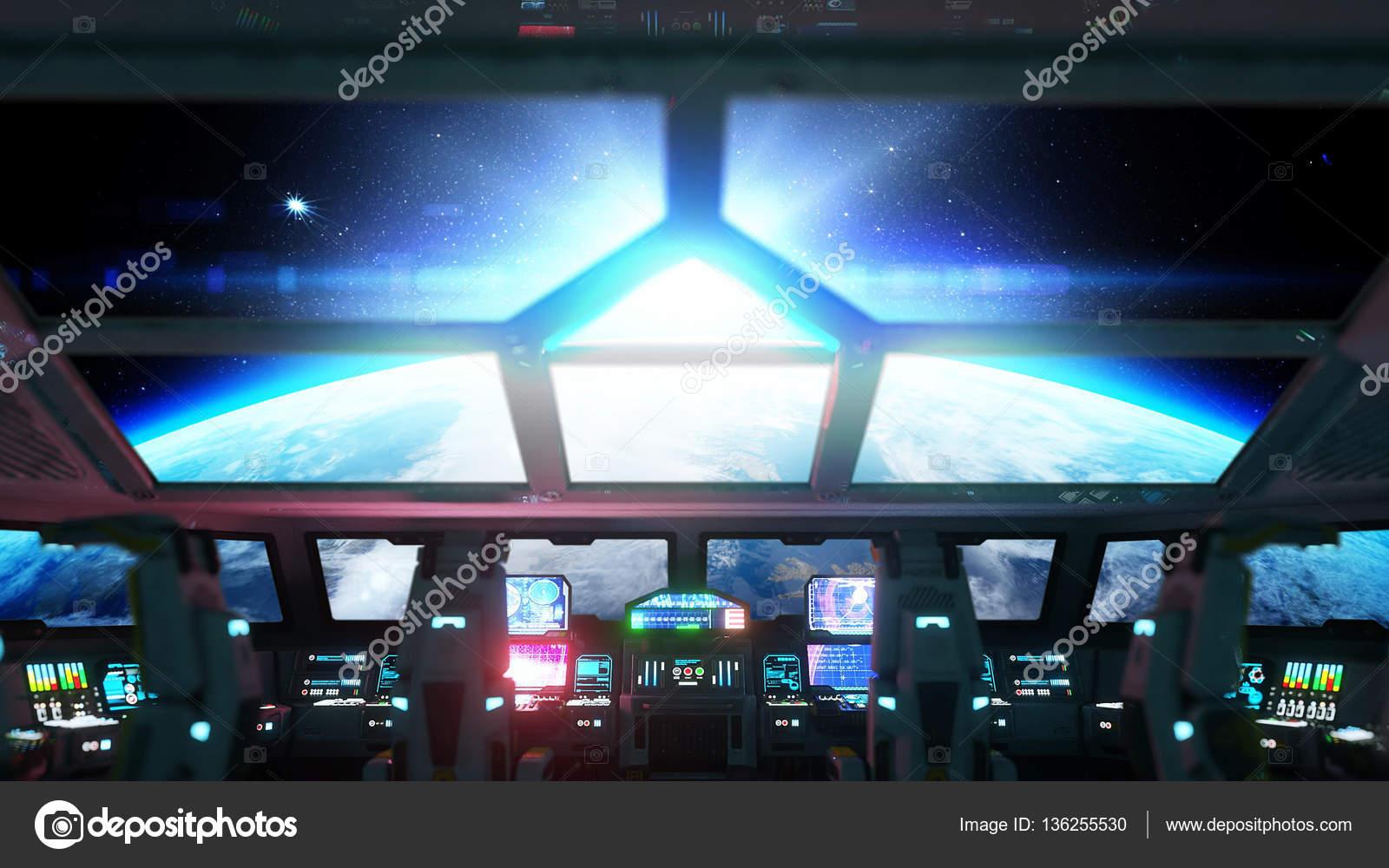 Interior De Ventana De Nave Espacial: Como Hacer El Interior De Una Nave Espacial