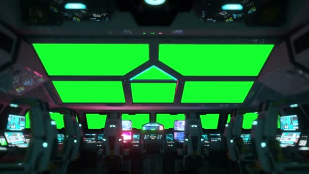space ship futuristic interior cabine view green screen footage stock video chagpg 136306412. Black Bedroom Furniture Sets. Home Design Ideas