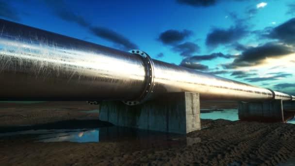 パイプライン輸送石油、天然ガス...