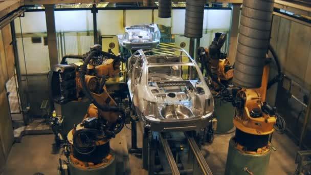 Bardzo dobryFantastyczny roboty są spawania nadwozia, Dokonywanie karoserii samochodu na CC29