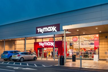 Exterior of Tkmaxx store