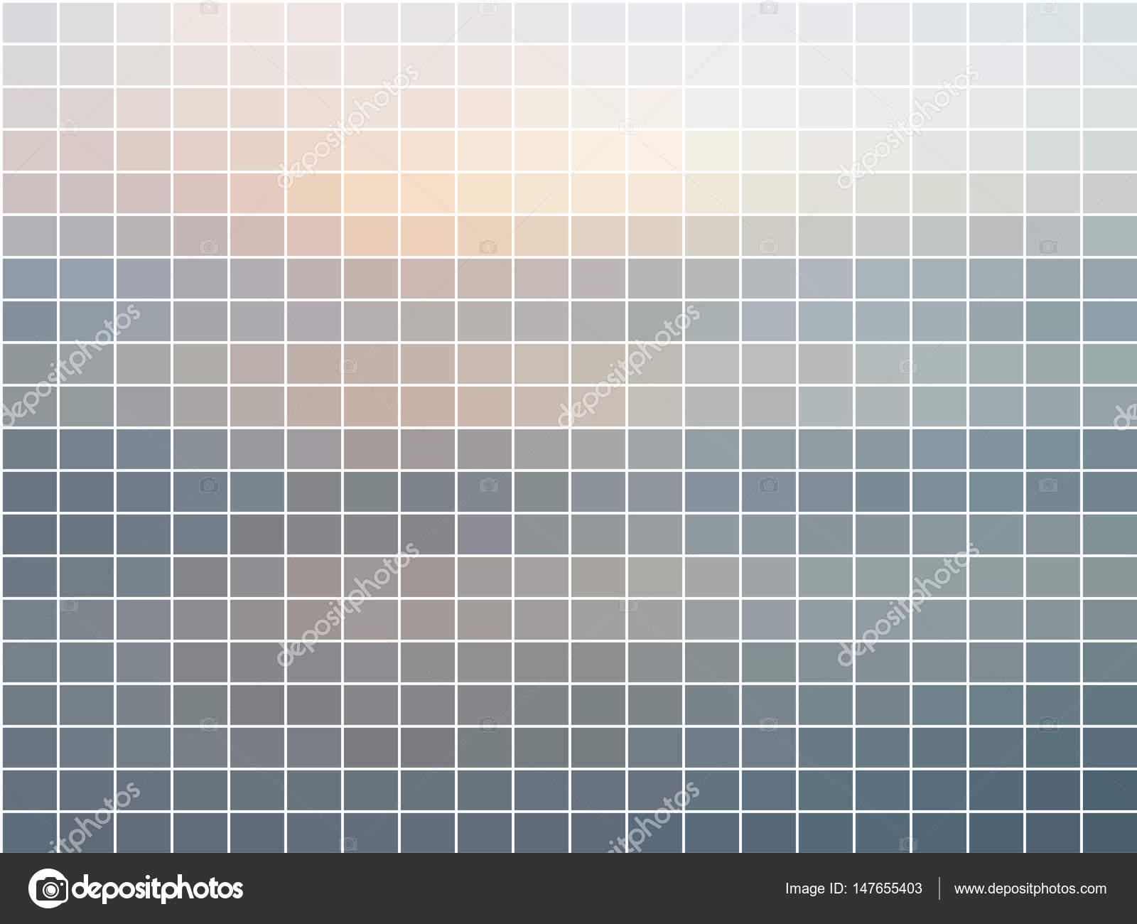 Graue Quadrat Rosa Mosaik Fliesen Hintergrund Stockvektor - Rosa mosaik fliesen