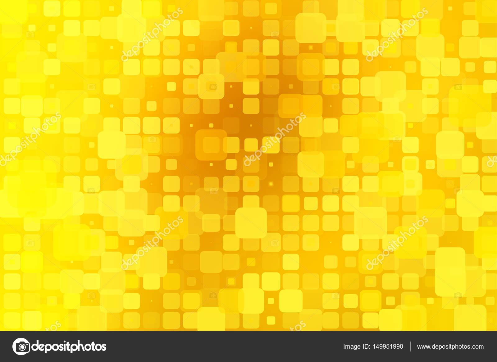 Leuchtendes Goldgelb Leuchten Verschiedene Fliesen Hintergrund