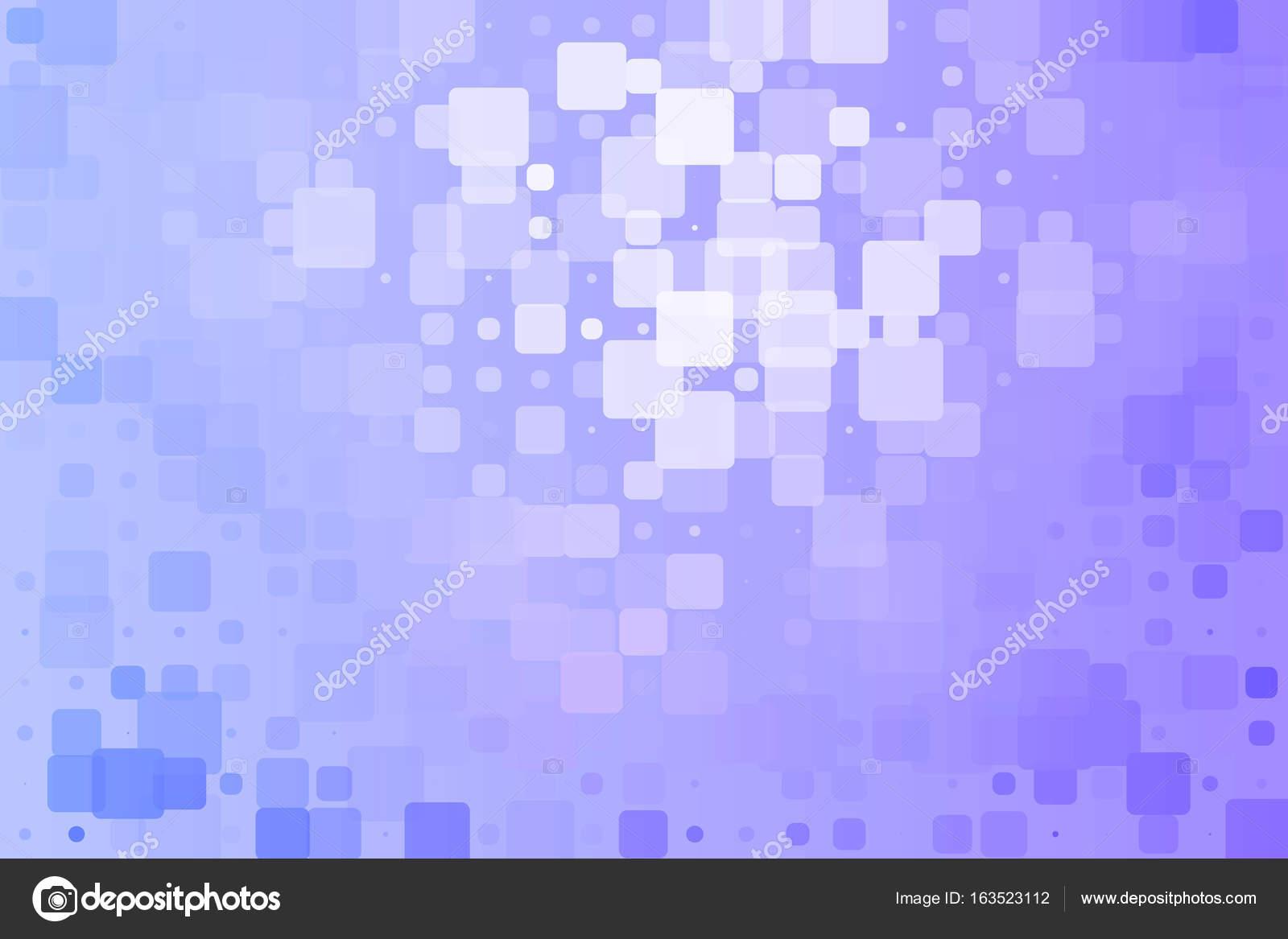 Lila Blau Weiss Gluhenden Verschiedene Fliesen Hintergrund