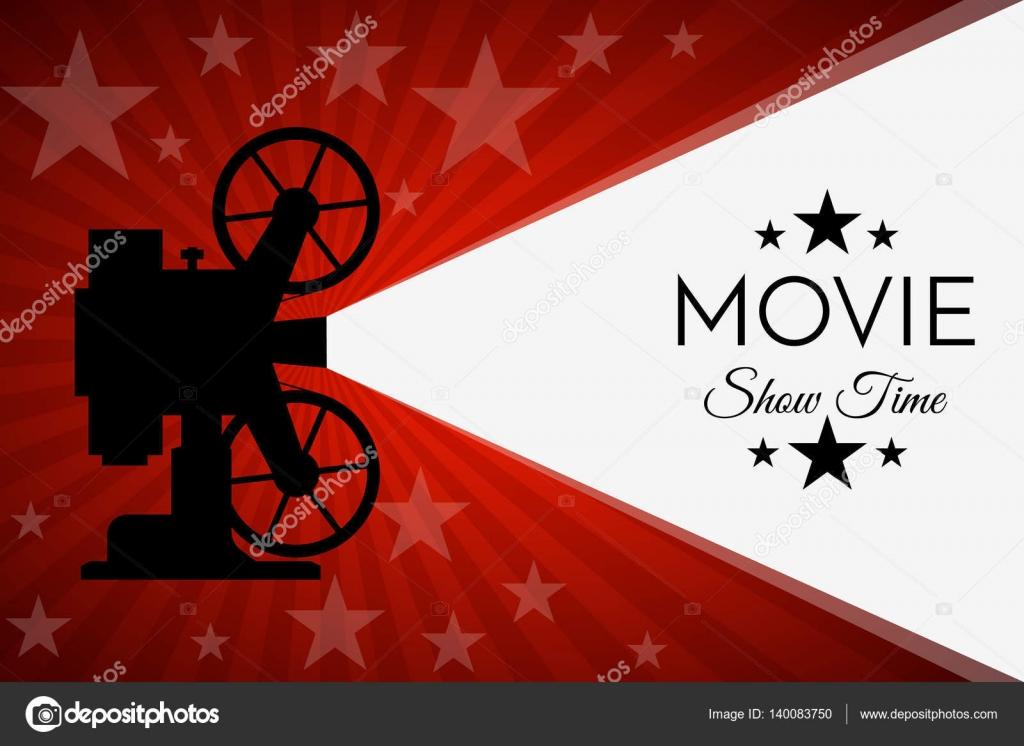 Kino-Hintergrund oder Banner. Movie Flyer Ticketvorlage ...