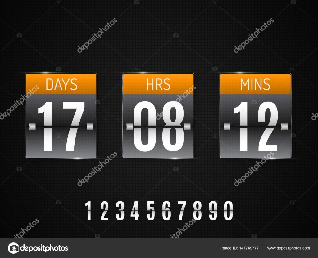 Großzügig Website Countdown Vorlage Bilder - Beispiel Wiederaufnahme ...