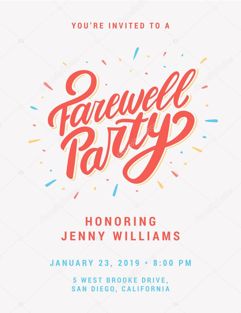 images farewell party invitation  farewell party