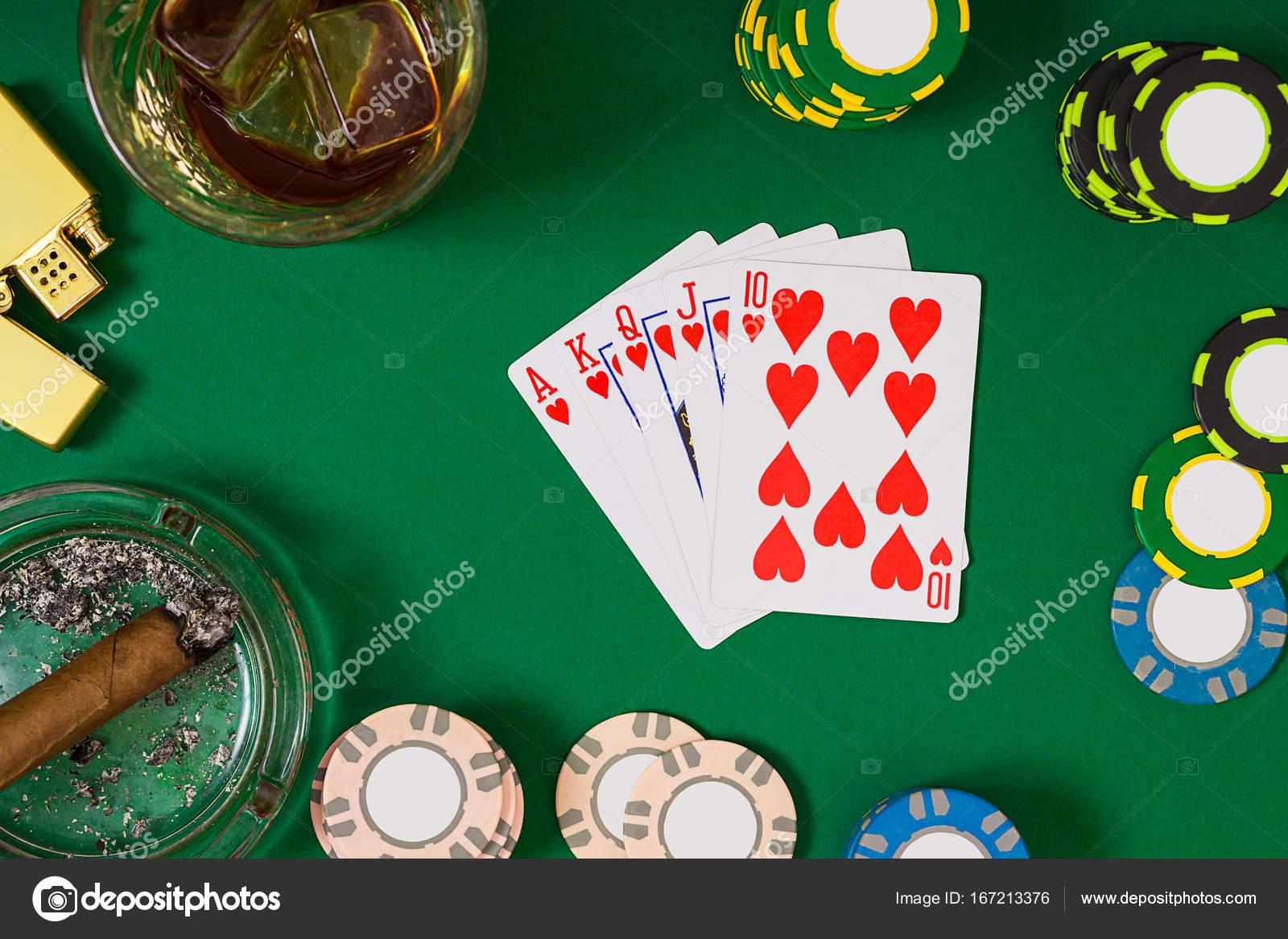 Азартная игра покер