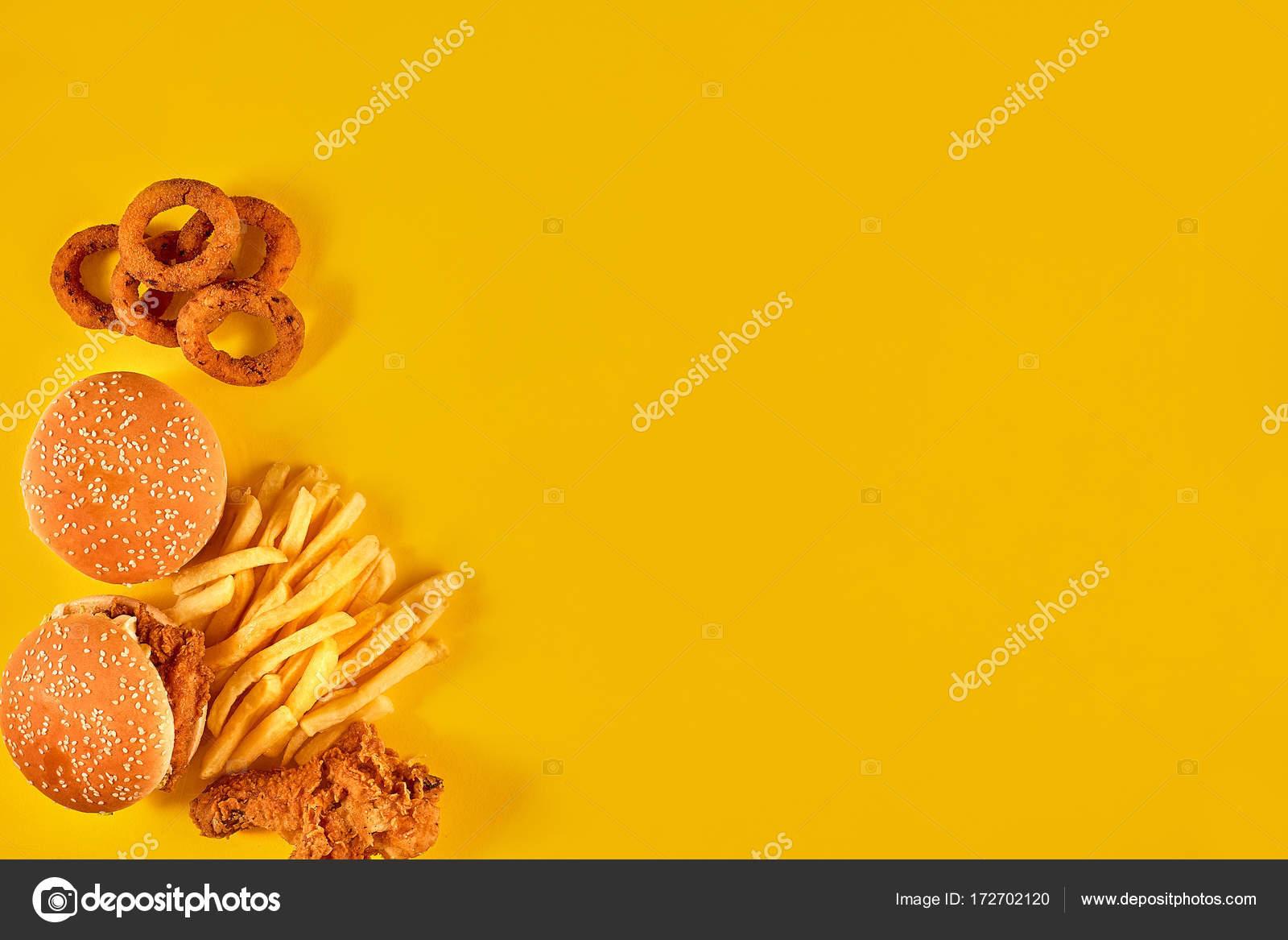 Fondo: Amarillo Para Comidas