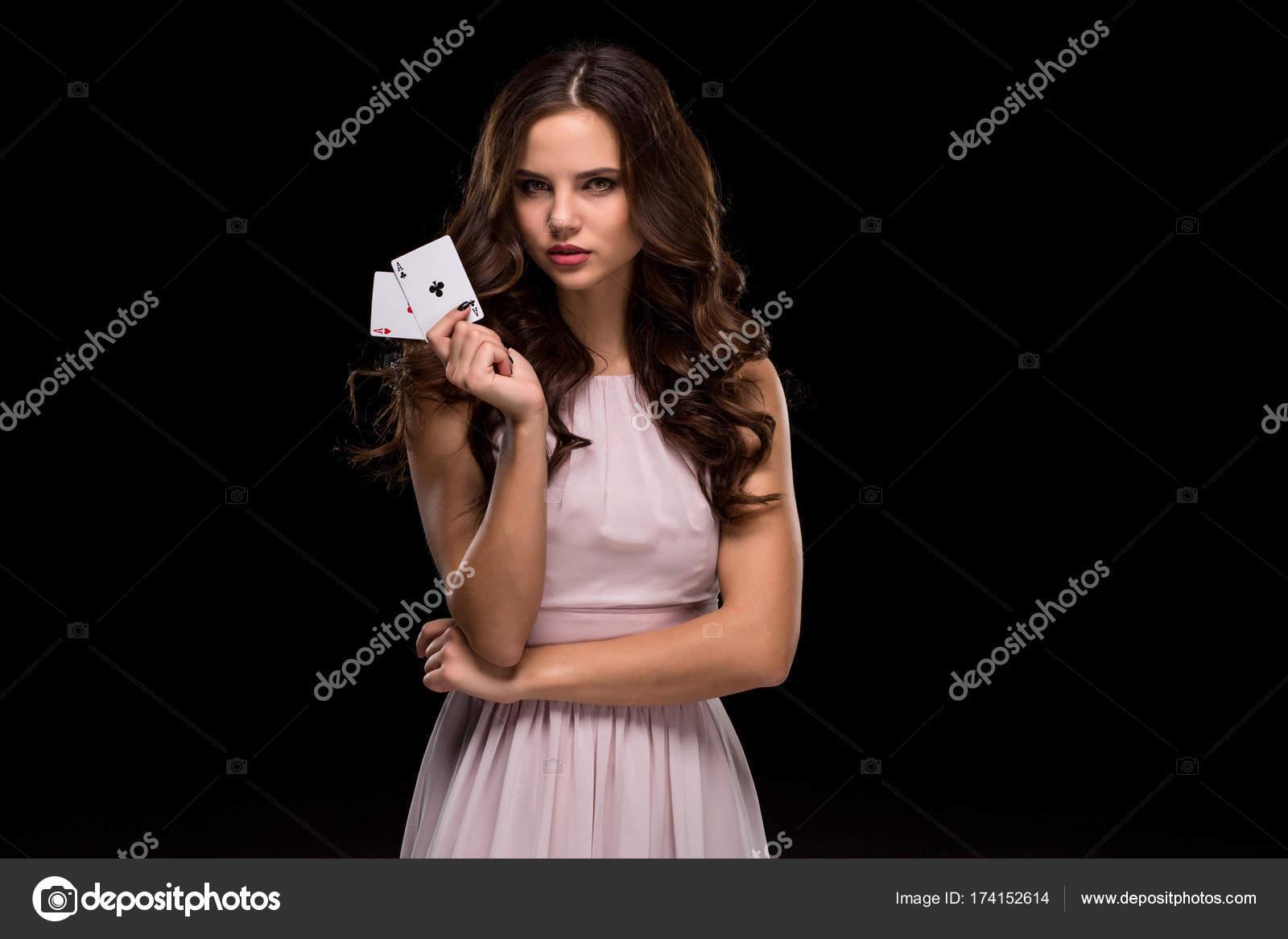 Фото сексуальных девушек в покере