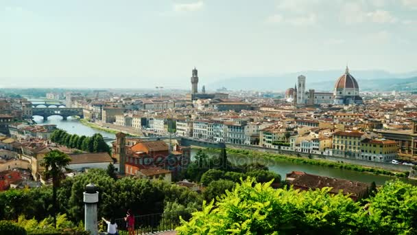 One of the most popular cities among tourists is Florence in Italy. City panorama