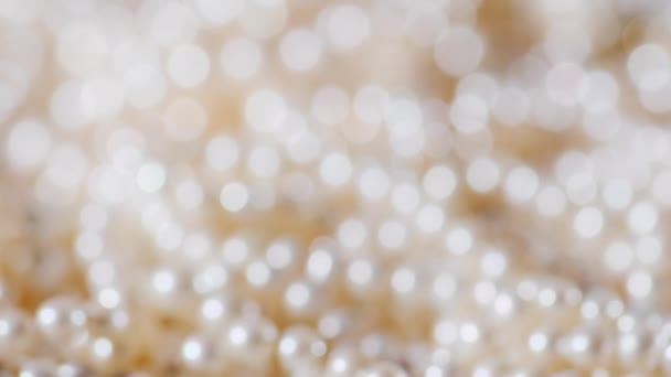 Blurred jewelry. Jewelry background, slowly spin bokeh