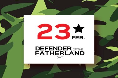 Happy Defender of the Fatherland day. 23 February