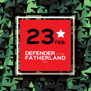 Happy Defender of the Fatherland day. 23 February.fighter