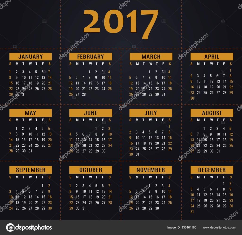 Verwenden Sie 2017 Kalender, Planer, Organisator und Zeitplanvorlage ...
