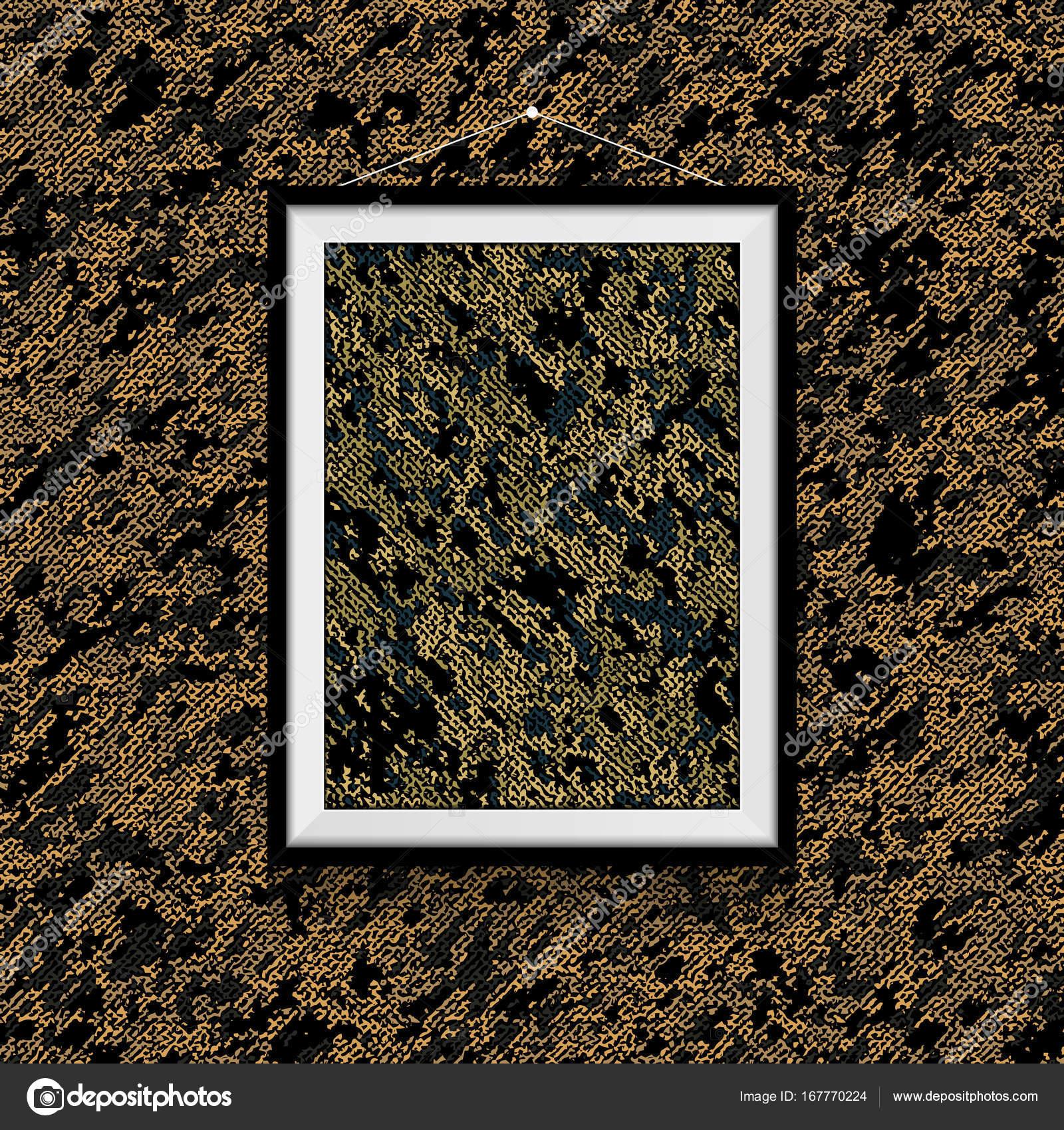Foto de textil de camuflaje sobre el muro de textil camuflaje ...