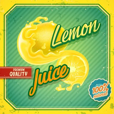lemon fruit juice banner