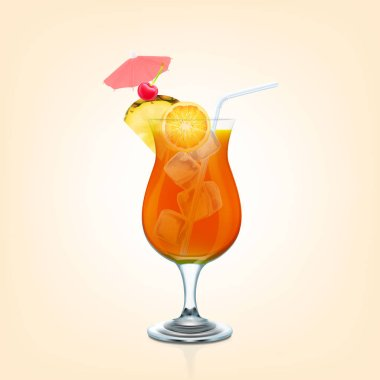 Fresh Mai Tai cocktail