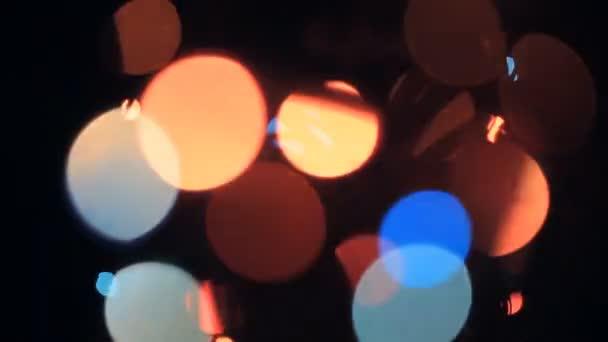 pozadí světla novoroční věnce
