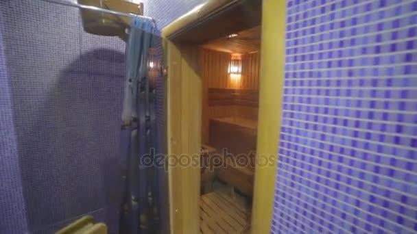 Finské dřevěné sauně v lázeňském centru