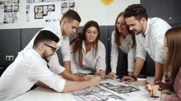 Young team of architects working on a new project 20s 4k