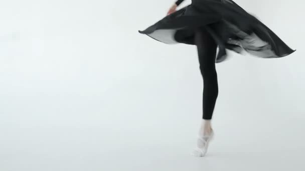 Baletka provádět piruety zpomaleně studio 20s 1080 p