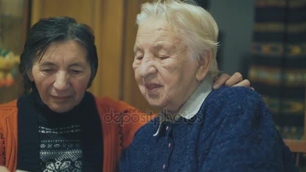 Very old ladies