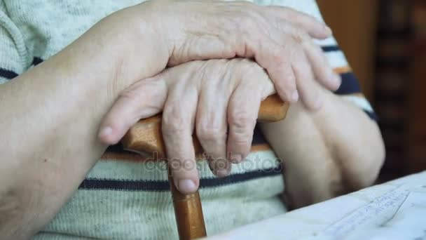 Staré ruce a držet. Babičky Staré ruce 4k
