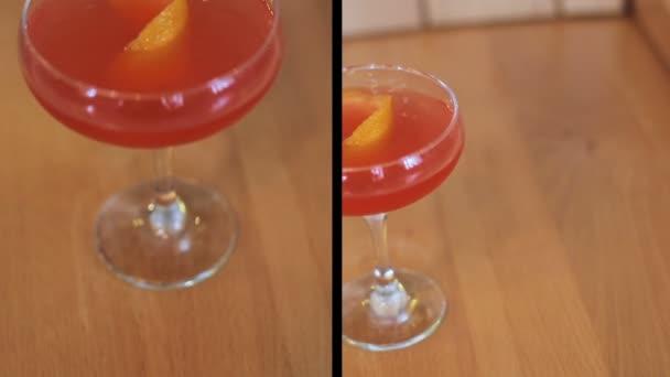 Sestřih čerstvý koktejl na stole