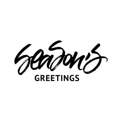 Season's Greetings inscription