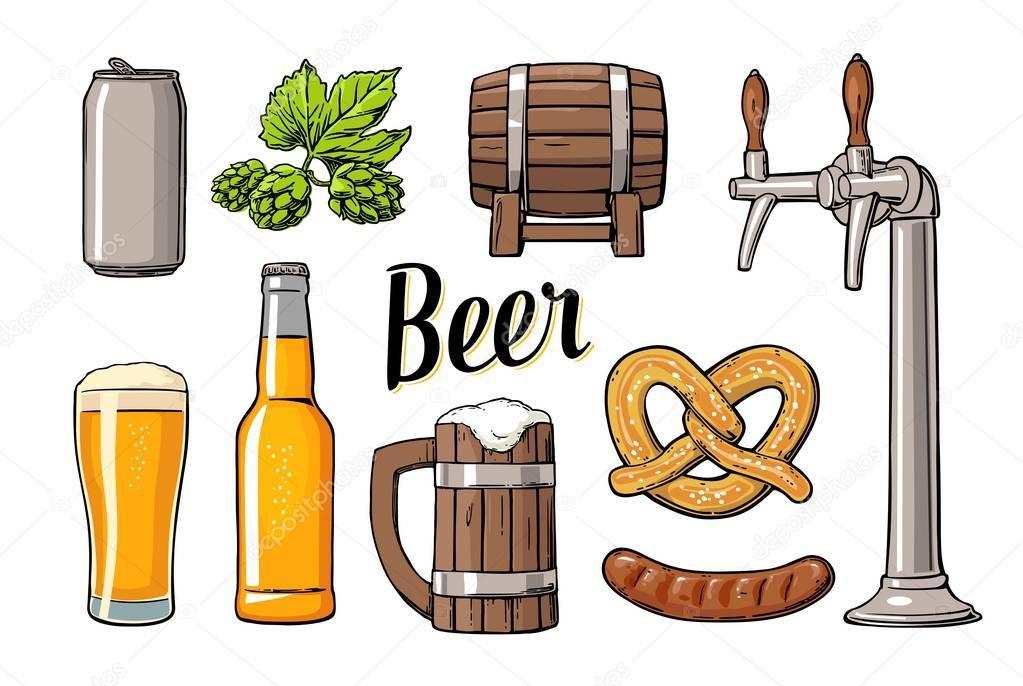 Botella De Cerveza Dibujo: Cerveza Con Grifo, Clase, Puede