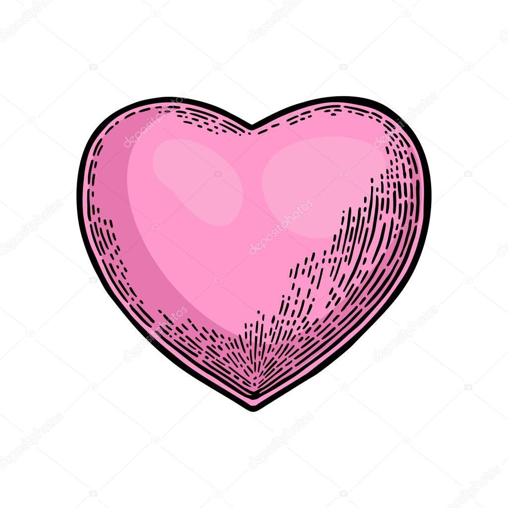 Человеческое сердце раскраска. Сердце. Вектор черный и ...