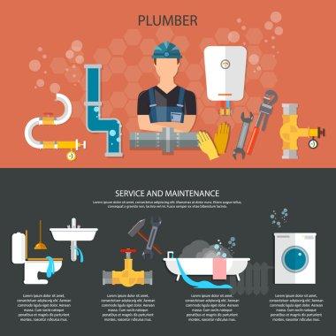 Professional plumber plumbing repair service