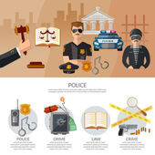 Justice system infographics crime and punishment