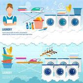 Wäscheservice Banner chemische Reinigung Banner