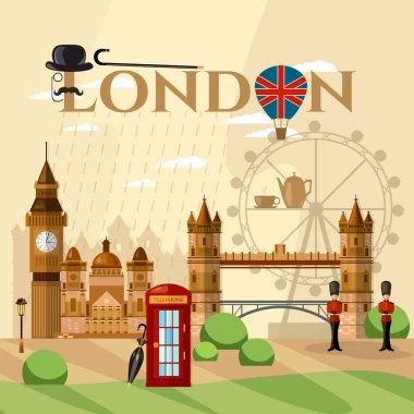 London City Skyline, London United Kingdom
