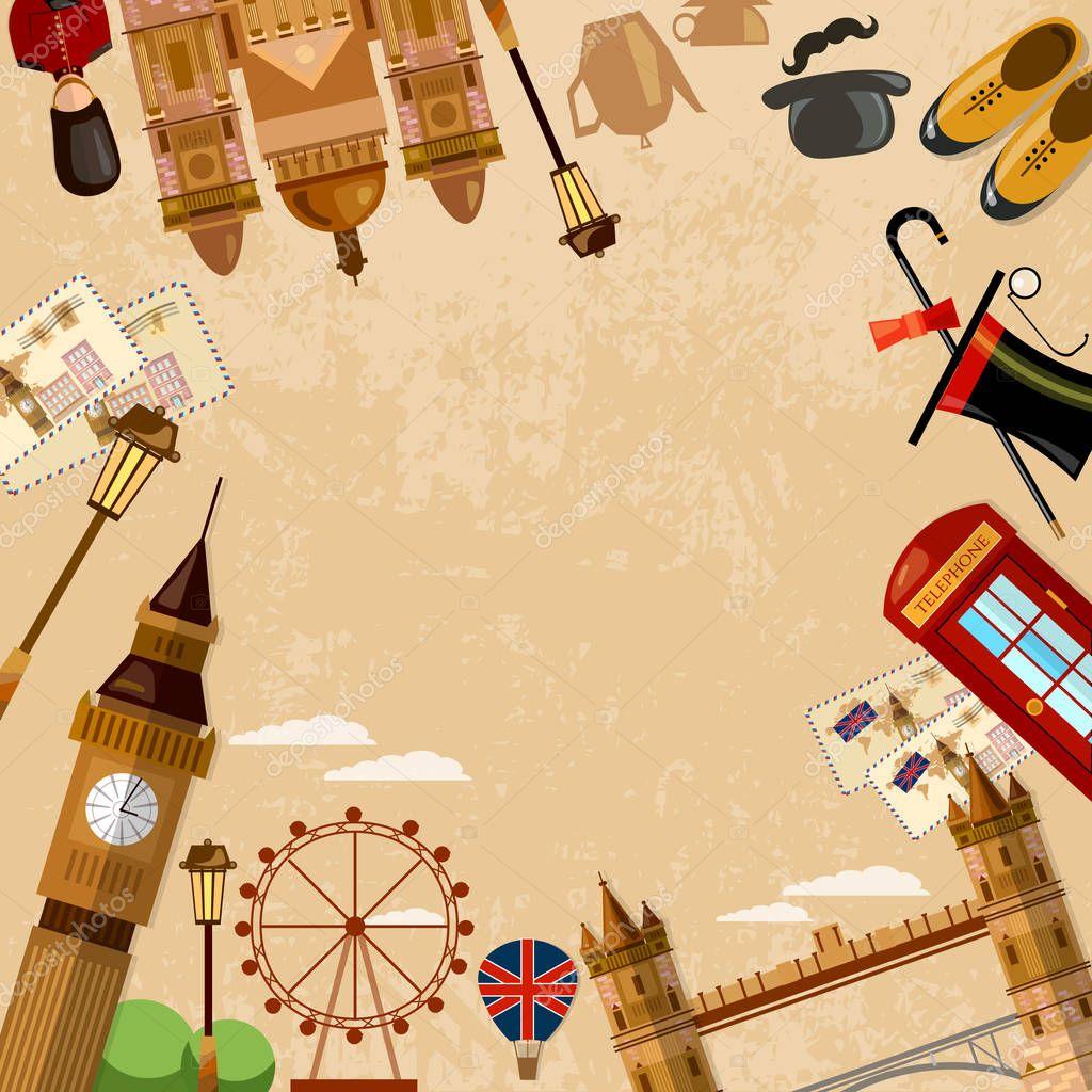 Открытки лондон путешествие