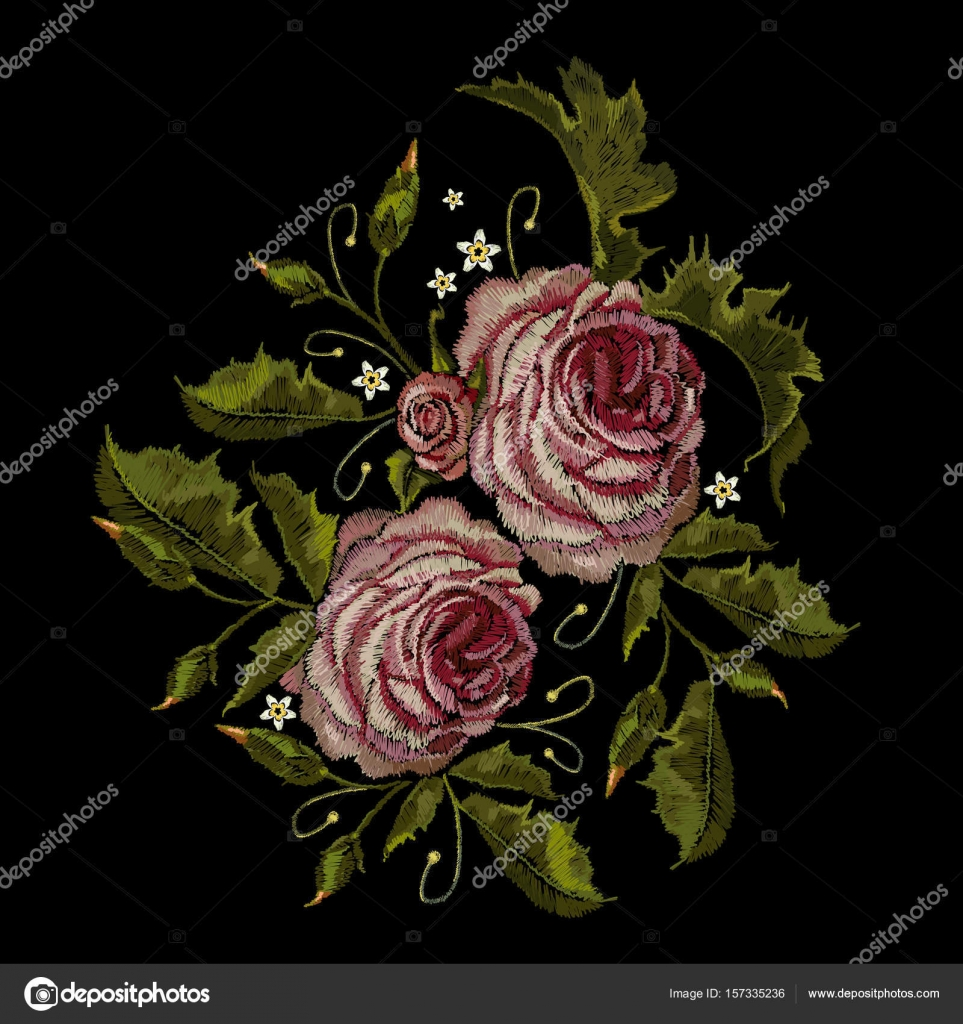 Roses embroidery. Clical embroidery buds of roses — Stock Vector on garden dress forms, country garden designs, garden edging designs, garden home designs, garden wedding designs, garden fabric, garden box designs, garden art designs, garden cake designs, garden motif design, garden surface pattern designs, garden window designs, garden flowers designs, garden needlepoint designs,