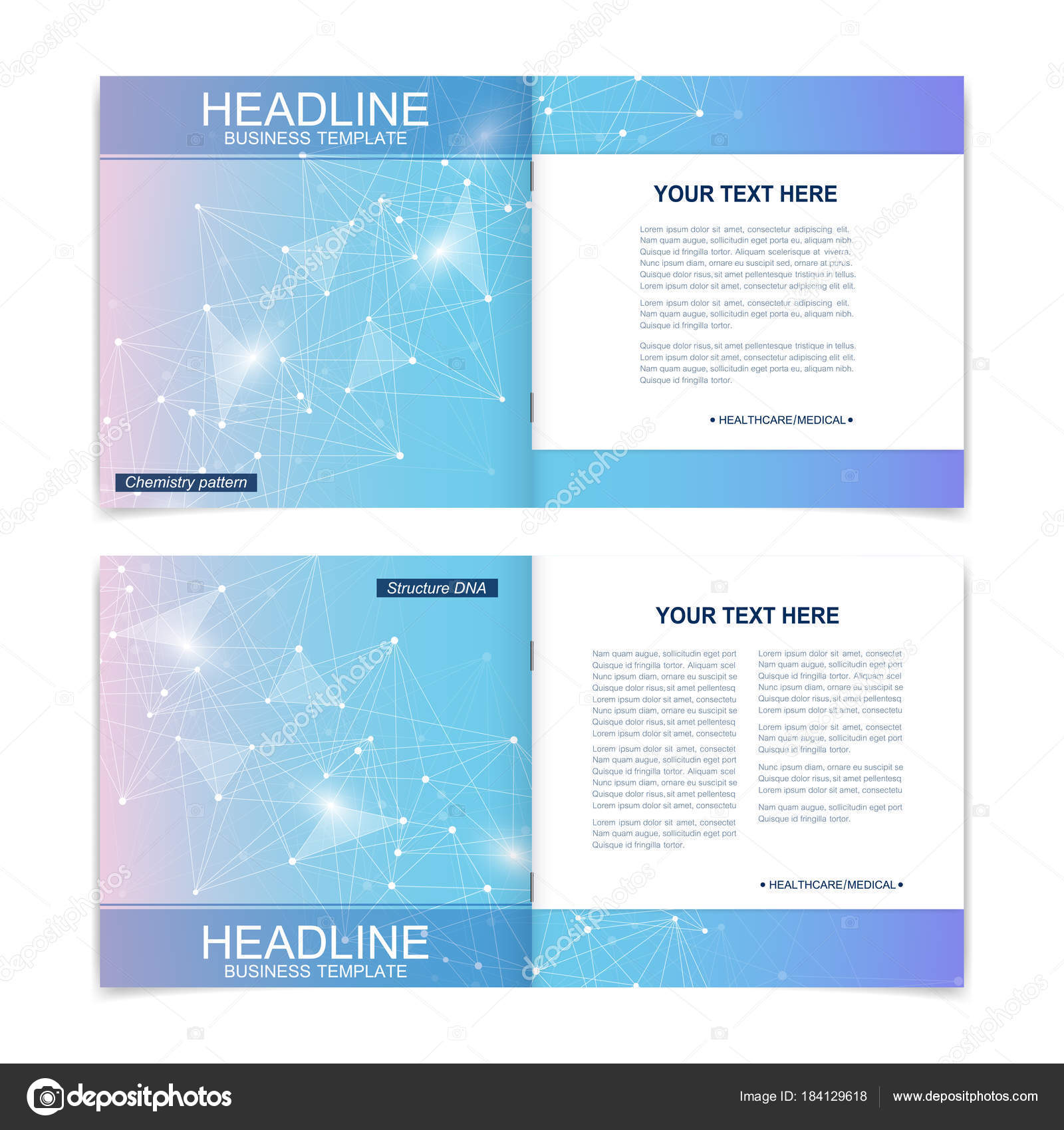 scientific templates square brochure magazine leaflet flyer