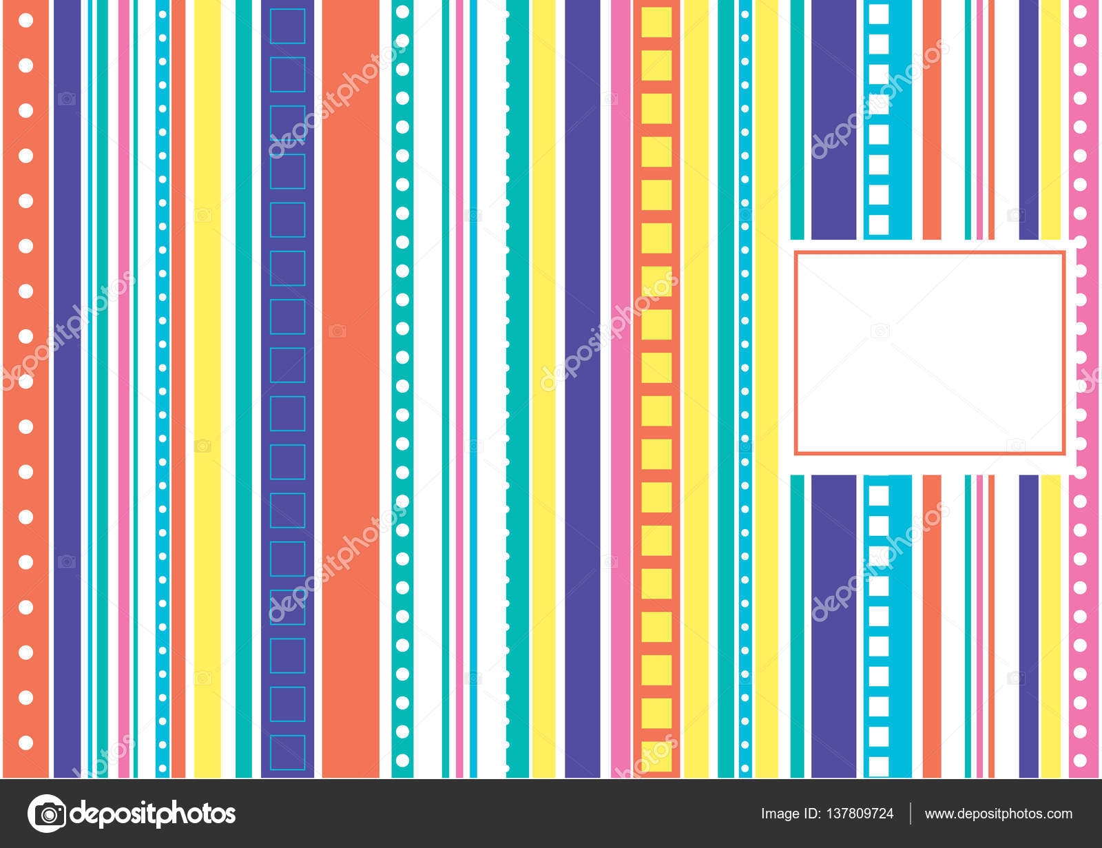 color pattern with lines Stockvektor dashaemeljashamailru
