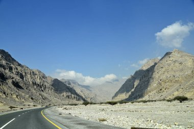 Road to Jais Mountains, Jebel Jais, Ras Al Khaimah, United Arab