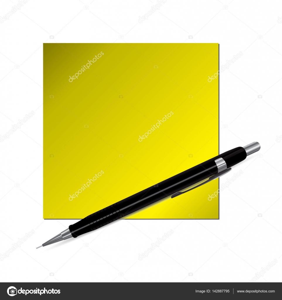 Plantilla vacía de papel rayado con rotulador o lápiz — Archivo ...
