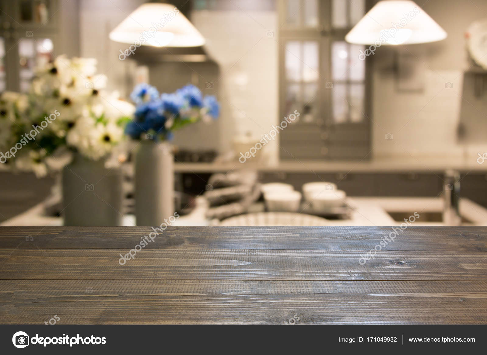 Какие цветы у вас на кухне